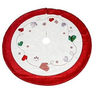 Vosarea-2-Stcke-Weihnachtsbaum-Rock-Handschuhe-Muster-Baumwolle-Baum-Rock-Rustikale-Weihnachtsbaum-Urlaub-Dekorationen-120-cm