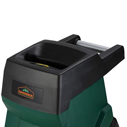 GARDEBRUK-Elektrischer-Messerhcksler-2400W-max-45mm-Aststrke-50L-Auffangbeutel-berlastschutz-Wiederanlaufschutz-geringes-Gewicht-Gartenhcksler-Hcksler-Schredder-Hcksler