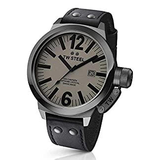 TW-Steel-Unisex-Armbanduhr-CEO-Swiss-Edition-Analog-Quarz-Leder-TWCE1051