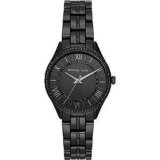 Michael-Kors-Damen-Analog-Quarz-Uhr-mit-Edelstahl-Armband-MK4337