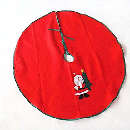 CHENZHAOL-Baumrock-1-Stcke-Weihnachtsmann-Baum-Rock-Weihnachtsbaum-Rock-Weihnachtsbaum-Dekoration-Weihnachten-Liefert-Weihnachtsdekoration-80-cm