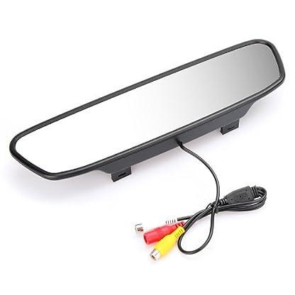 Andoer-Digital-Farbe-Auto-Rckspiegel-mit-5-Monitor-TFT-LCD-Display-Bildschirm-fr-Rckfahrkamera-DVD-VCR-Rckfahrsystem-A