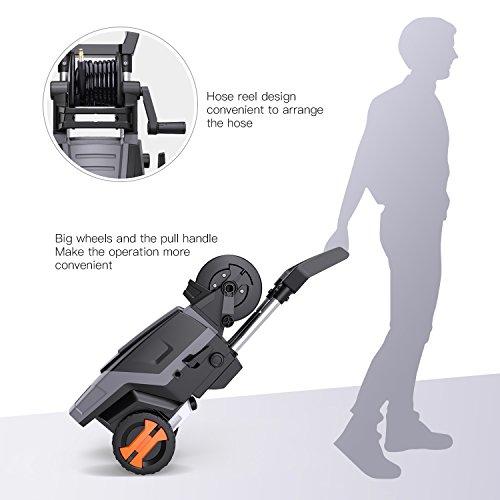 Hochdruckreiniger-2000W-160-Bars-450Lh-Tacklife-Vollkupfer-Motor-Hochdruckreiniger-mit-Hoher-Pumpleistung-Hochdruckpistole-2-Dsen-Schlauchtrommel-Und-6-m-Schlauch5-m-Kabel-1000ml-Reinigungsmitteltank-