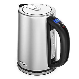 Wasserkocher-Edelstahl-VAVA-mit-Temperatureinstellung-17-L-BPA-frei-Elektrische-Teekanne-Wasserkessel-mit-Automatischer-Abschaltung-Trockengehschutz-2200W-Silber