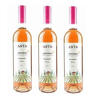 3x-Tsantali-Rose-Amynteon-trocken-3-Flaschen-a-750ml-Spar-Set-125-Vol-griechischer-Rosewein-zur-mediterranen-Kche-Aperitif-10ml-Olivenl-Test-Sachet-von-Kreta