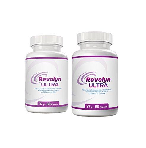 Revolyn Ultra – Diätpille für effektiven Gewichtsverlust | Jetzt das 2 Flaschen-Paket mit Rabatt kaufen | (2 Flaschen)