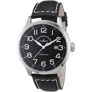 Zeno-Watch-Basel-Herren-Armbanduhr-XL-Retro-Tre-Analog-Automatik-Leder-6569-a1