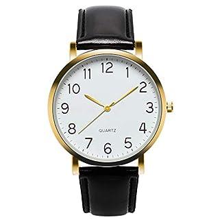 Cysincos-Unisex-Klassisch-Armbanduhr-Quarz-Analog-Mnner-Jungen-Handgelenk-Uhren-mit-PU-Leder-Armband-Quarzuhr-fr-Damen-und-Herren