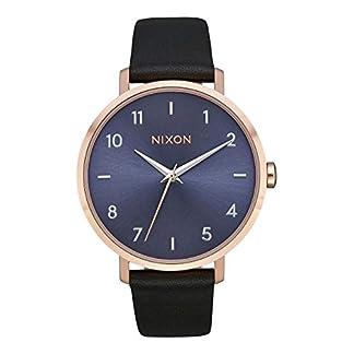 Nixon-Damen-Analog-Quarz-Uhr-mit-Leder-Armband-A1091-3005-00