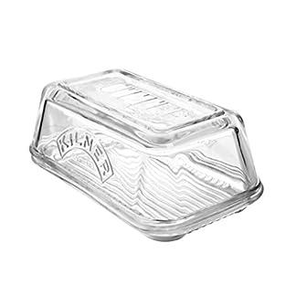 Kilner-Glas-Butterdose–Vintage-Butter-Serviertablett-mit-Deckel-ideal-fr-Home-Made-Handwerker-Butter