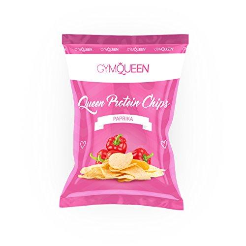 Gym Queen Protein Chips (14x50g) Paprika