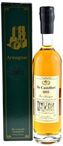Raritt-Armagnac-De-Castelfort-02l-Jahrgang-2003-abgefllt-2014-11-Jahre-im-Fass-gelagert-inklusive-Geschenkkarton