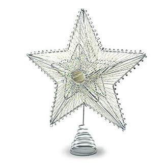 YuQi-Christbaumspitze-mit-silberfarbenem-Stern-241-cm