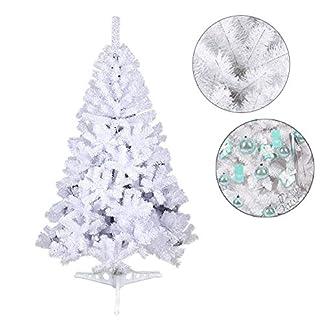VINGO-WeihnachtsbaumPVC-Knstlicher-Weihnachtsbume-Mit-Kunststoff-Stnder-Kunststoff-Nadeln-Weihnachten-Deko-Weihnachtsdekoration