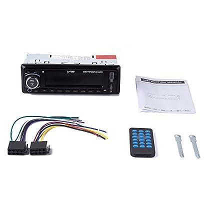 Ironpeas-Autoradio-mit-Freisprecheinrichtung-BluetoothUSB-SDAUX-FM-Single-Din-Version-Autoradio-MP3-Player-Fernbedienung-enthalten