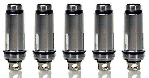 Aspire Cleito SS316L Verdampferköpfe mit 0,4 Ohm – 5 Stück pro Packung