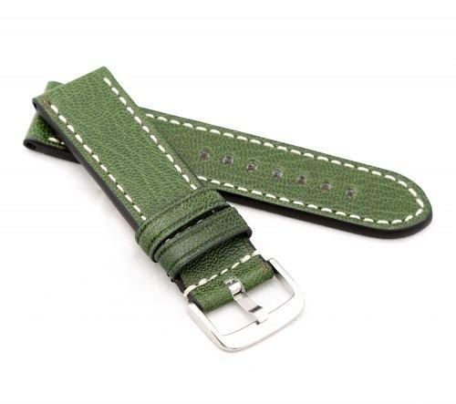 RIOS1931-Uhrenarmband-Vintage-Kalb-Modell-Oxford-5-Farben-neu-Gre-Uhr-24-mm-Schliee-24-mm