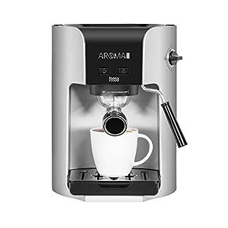 Teesa-AROMA-300-Manuelle-Kaffeemaschine-TSA4002-15-Liter-silberschwarz