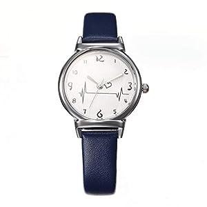 UINGKID-Damen-Armbanduhr-Analog-Quarz-Einfache-Grteluhr-Weibliche-Modelle-Kreative-Studenten-Heart-Feeling-Quarz-Uhr