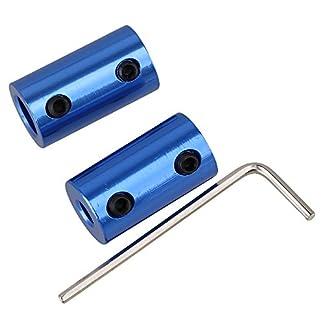 CNBTR-Blau-2-Stck-D14L25-5mm-bis-8mm-Starre-Kupplungswelle-Kupplung-Kupplung-Motor-Getriebe-Steckverbinder