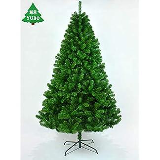CYWYQ-Premium-klappbar-Knstliche-Weihnachtsbaum-Mit-Beinen-Aus-Massivem-Metall-Vollen-Baum-Folding-Auto-ausbreitung-Wohnaccessoires