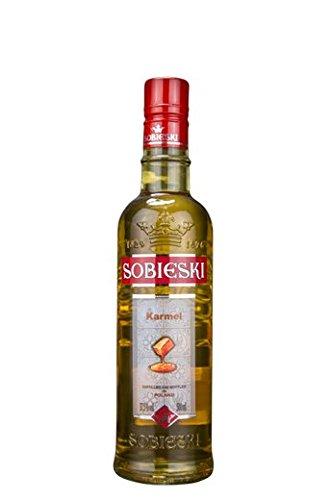 Sobieski-Karmel-Sobieski-Karamell-Polnischer-WodkaLikr-05-Liter-32-Alkoholgehalt