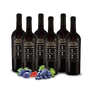 Primitivo-ESEMPIO-Vigneti-del-Salento-Farnese-Vini-Italien-Apulien-Vorteilspaket-6x-075l-Rotwein-trocken