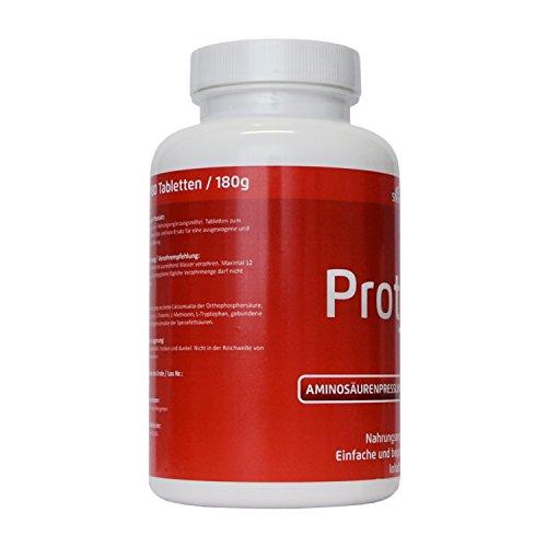 Lupinen Eiweiss 180 Tabs vegane Aminosäure 8 EAA Aminos Diät Hilfe mehr Protein auch für die Paleo, Atkins, Keto und Low Carb Ernährung • in Deutschland hergestellt •