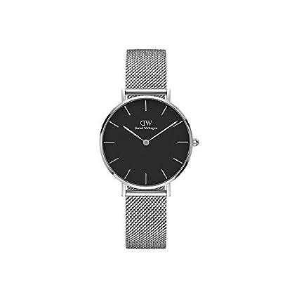 Daniel-Wellington-Unisex-Erwachsene-Digital-Quarz-Uhr-mit-Edelstahl-Armband-DW00100162