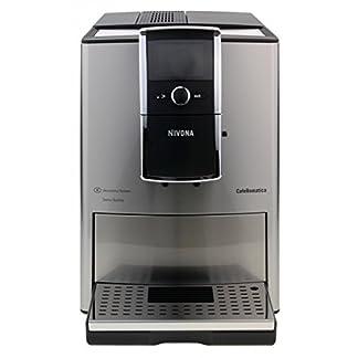 Nivona-CafeRomatica-858-Kaffeemaschine-freistehend-vollautomatische-Espressomaschine-fr-Kaffeebohnen-aus-Chrome-und-Edelstahl-mit-Tasten-rotierend