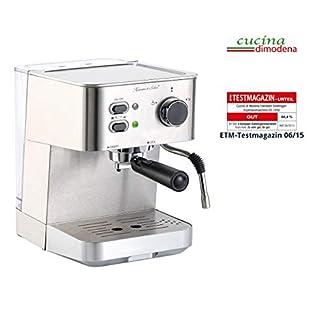 Cucina-di-Modena-Siebtrgermaschine-Edelstahl-Siebtrger-Espressomaschine-ES-1050-Siebtrger-Kaffeemaschine