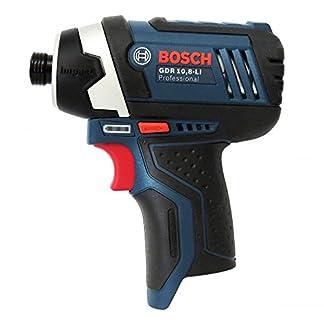 Bosch-Akku-Drehschlagschrauber-GDR-108-Li-OHNE-L-Boxx-Einlage-ohne-Akkus-und-Ladegert-incl-Bedienungsanleitung