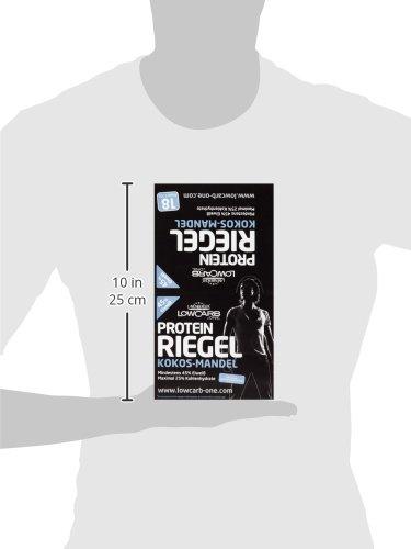 Layenberger LowCarb.one Protein-Riegel Kokos-Mandel, 18er Pack (18 x 35 g)