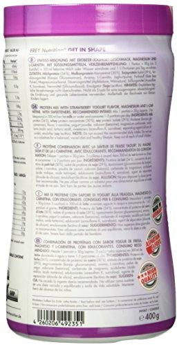 Frey Nutrition Get in Shape Erdbeer-Jopghurt, 1er Pack (1 x 400 g)