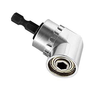 Fresh66-105-Winkelschrauber-Vorsatz-Adapter-mit-14-Zoll-Schnellwechsel-und-magnetischen-Bit-Halter-Reparatur-Werkzeuge-fr-Schraubendreher-Akkuschrauber-Bohrmaschine
