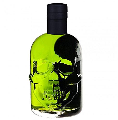 Absinth-Skull-Totenkopf-grn-05L-Testurteil-SEHR-GUT14-Maximal-erlaubter-Thujongehalt-35mgL-55-Vol