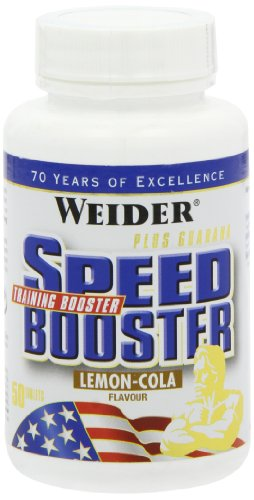 Weider, Speed Booster, Lemon-Cola, 1er Pack (1x 50 Tabletten)
