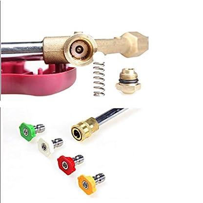 Homyl-Hochdruckreiniger-PistoleLanzeSpritze-fr-Auto-aus-Kunststoff-und-Kupfer