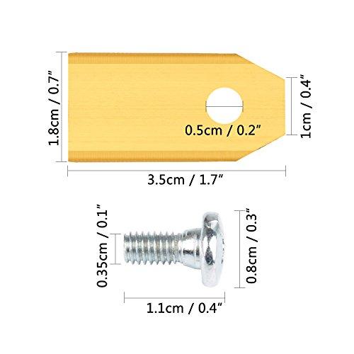 33x-Titan-Ersatz-Messer-Klingen-DigHealth-Titan-Beschichtung-Ersatzmesser-Klingen-fr-Husqvarna-AutomowerGardena-Mhrobotor-3g-075mm-33x-Schrauben-fr-105-310-315-320-420-430x-r40i