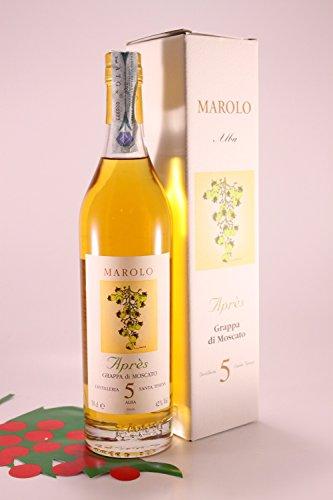 Grappa-Moscato-5-Y-gelagert-42-70-cl-Brennerei-Marolo