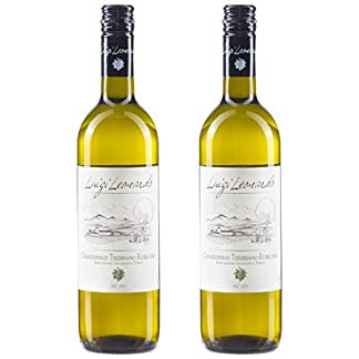 Luigi-Leonardo-Chardonnay-Trebbiano-Rubicone-italienischer-Weiwein-2er-Set-Cuve-Trocken