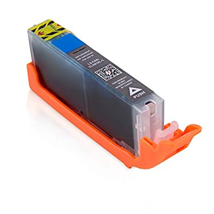 Logic-Seek-10-XXL-Tintenpatronen-mit-Chip-kompatibel-fr-Canon-PGI580-CLI581-Pixma-TR8550-TS6150-TS6151-TS6250-TS8150-TS8151-TS8152-TS8250-TS9150-TS9155-TS9550-TR7550-PGI-580-CLI-581