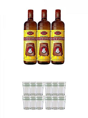 Velho-Barreiro-Silver-Cachaca-Originalabfllung-3-x-10-Liter-Velho-Barreiro-Caipirinha-Glas-6-Stck-Velho-Barreiro-Caipirinha-Glas-6-Stck