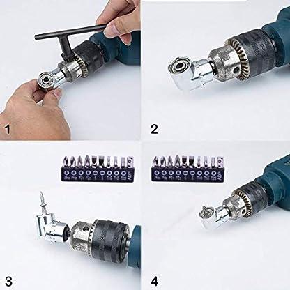 VOKIT-Biegsame-Welle-Flexible-Welle-rechtwinklig-Bohradapter-Bohrer-Schraubendreher-Bits-Bohrerverlngerung-Zubehr-Universal-Set