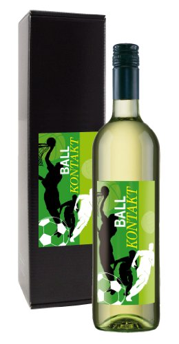 Wein-Geschenk-Ballkontakt