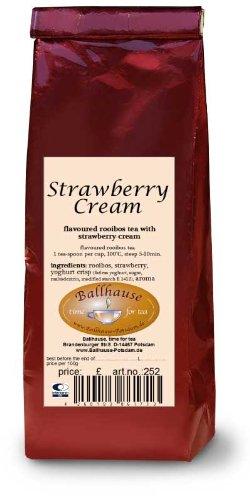 Erdbeer-Sahne-Rooibosteemischung
