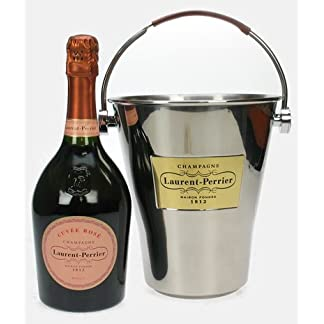 Sparkling-Direct-Laurent-Perrier-Rose-Champagne-with-Ice-Bucket-NV-75-cl