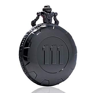 JLyshop-Taschenuhr-Klassische-Schwarze-Steampunk-Taschenuhr-Fallout-4-Vault-111-Quarz-Taschenuhr-Geschenk-fr-Herren