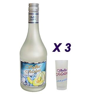 3-x-Vodka-Melon-07Liter-16-vol-mit-3-Glser-24cl