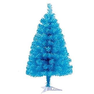 TOPYL-Mini-Knstlicher-Weihnachtsbaum-Prmie-Klappbare-Xmas-Kiefer-Baum-Mit-PVC-Kunststoffstnder-Perfekt-Fr-Indoor-Anderen-Besonderen-Anlssen-Einfach-Zu-Montieren
